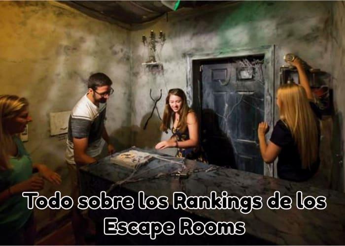 Todo sobre los Rankings de los Escape Rooms
