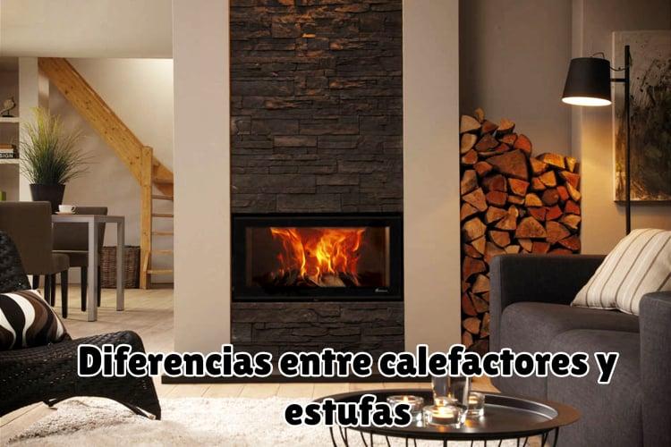 Diferencias entre calefactores y estufas